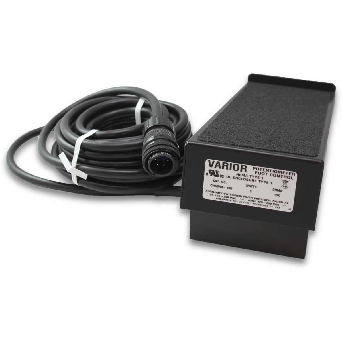 Linemaster Varior Potentiometer Ohasab 10k Ac Fan To Wiring Click Image Open Expanded View